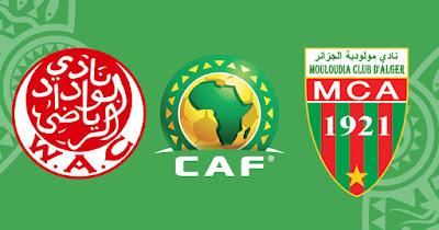 مشاهدة مباراة مولودية الجزائر والوداد بث مباشر اليوم في دوري أبطال أفريقيا