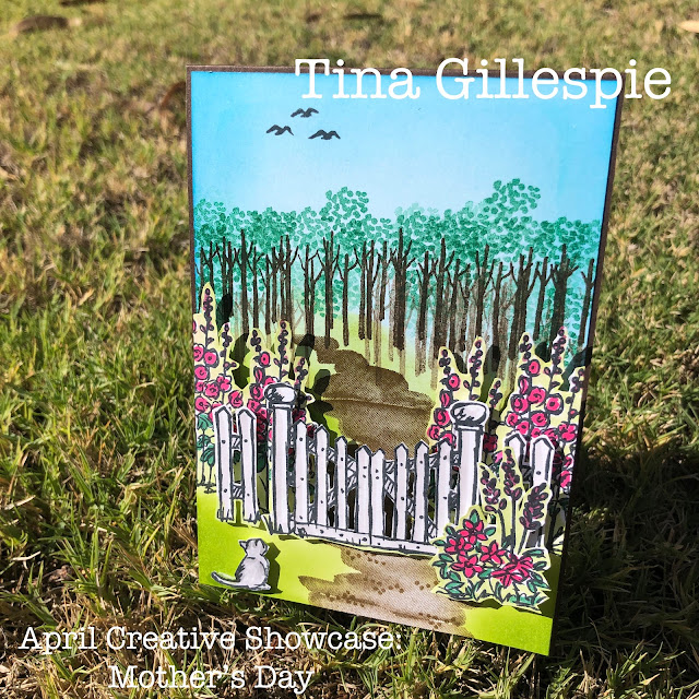 scissorspapercard, Stampin' Up!, Grace's Garden, My Meadow, Dressed To Impress, Stampin' Blends, Mother's Day Card