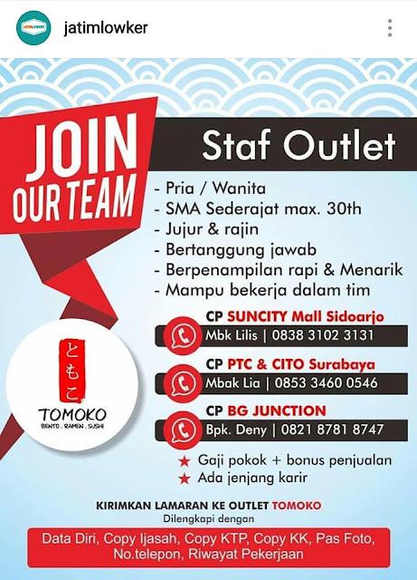 https://lokerkerjapt.blogspot.com/2018/09/lowongan-kerja-staff-outlet-tomoko.html