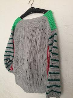 gehaakte trui, gehaakte sweater, trui haken, stoere trui haken