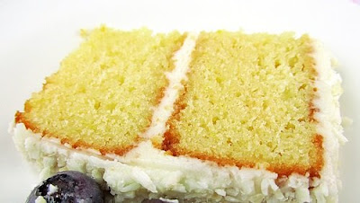 LEMONADE CAKE WITH FROSTING