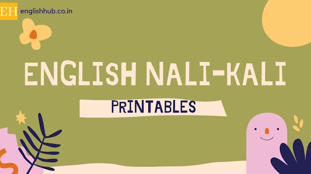 Download the complete package of latest English Nali-Kali materials