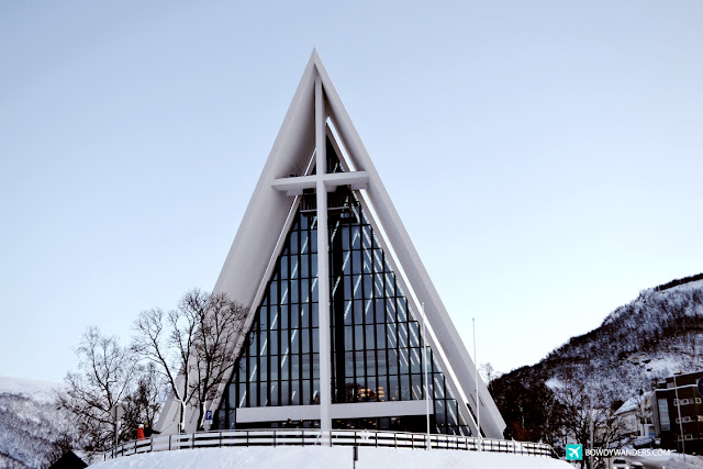 bowdywanders.com Singapore Travel Blog Philippines Photo :: Norway ::  The Arctic Cathedral, Tromso: Why It Is A Good Thing To Visit at Sundown