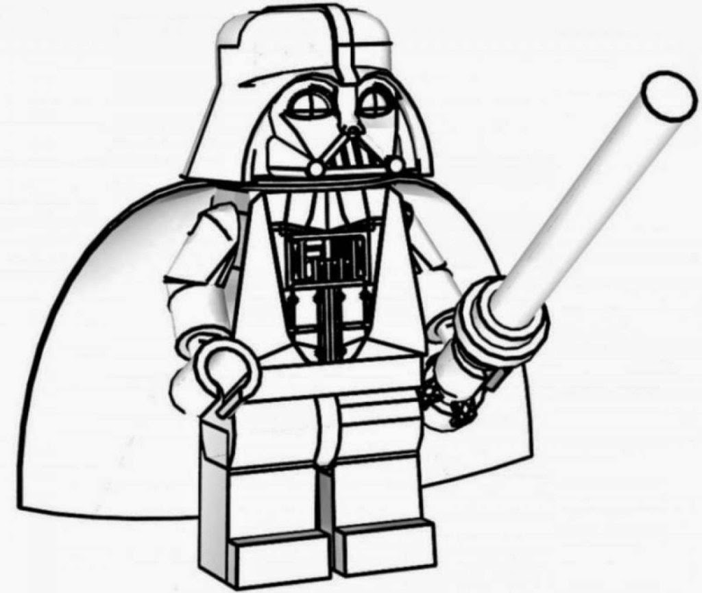 Malvorlagen Lego City