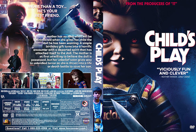 Child's Play (2019) DVD Cover