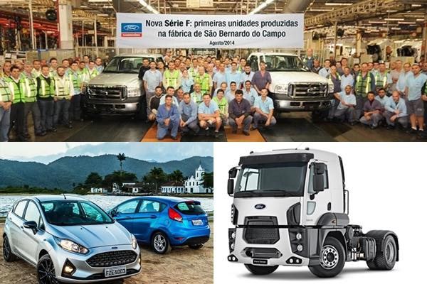 Ford cierra la planta de Brasil (Ford Fiesta y Ford Cargo)