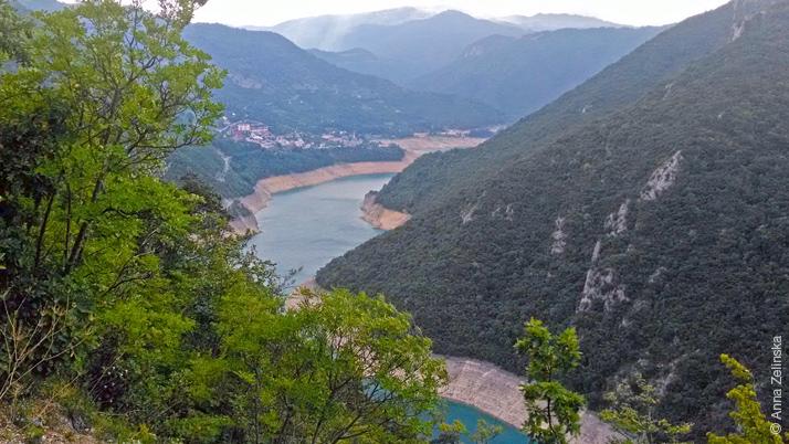 Водоем, Пивское озеро в Черногории