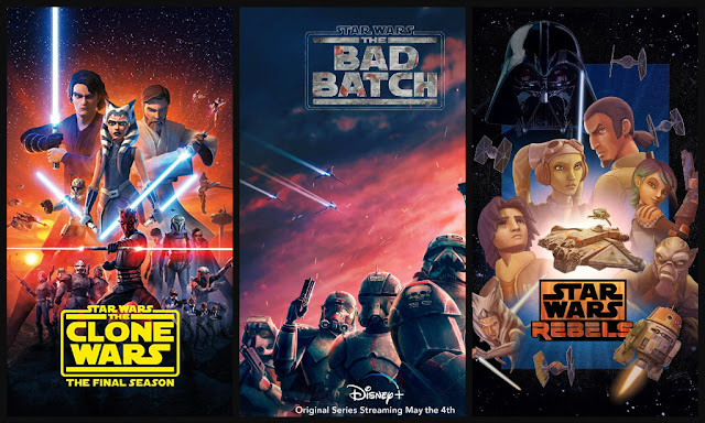 star wars animated tv shows
