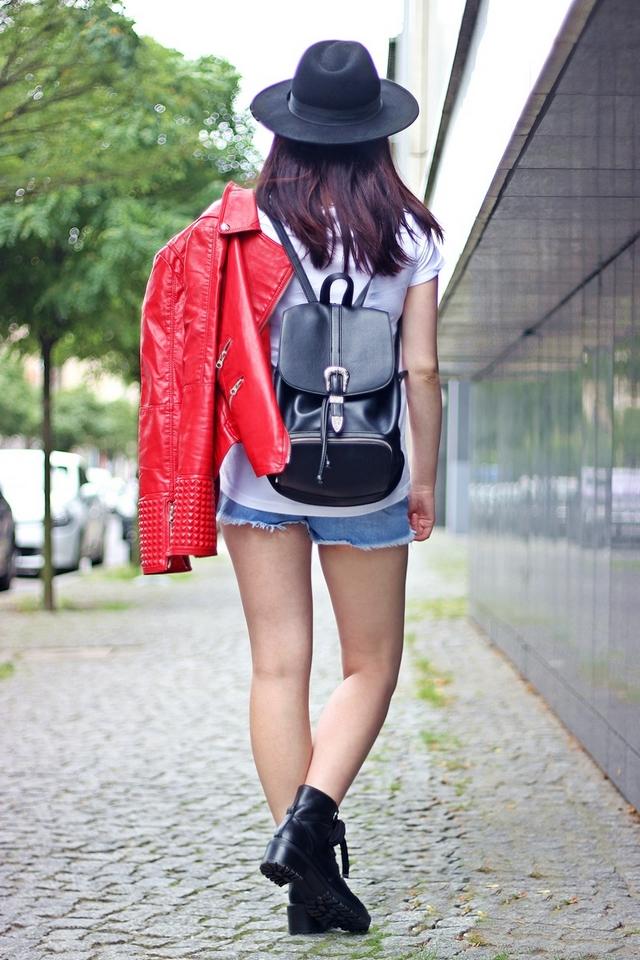 rockowy plecak Forever 21