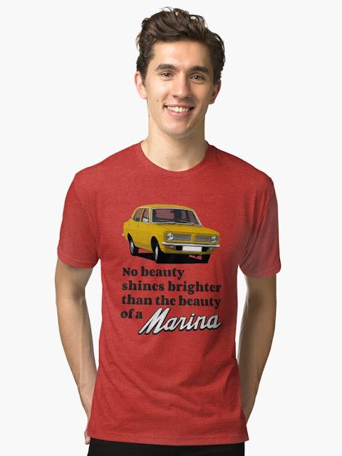 No beauty shines brighter than the beauty of a Morris Marina T-shirt - yellow