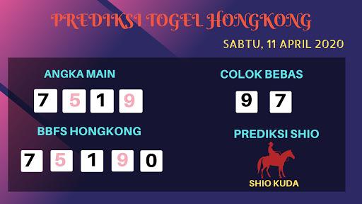 Prediksi HK Sabtu 11 April 2020 - Prediksi Angka Hongkong