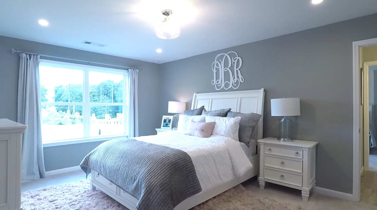 Interior Design Tour vs. INSIDE TOLL BROTHERS DECORATED 5 BDRM MODEL HOME N. OF ATLANTA - BP $414,900