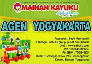 Alamat Produsen Mainan Kayuku Agen Yogyakarta