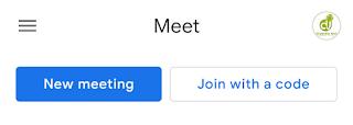 Google meet webinar