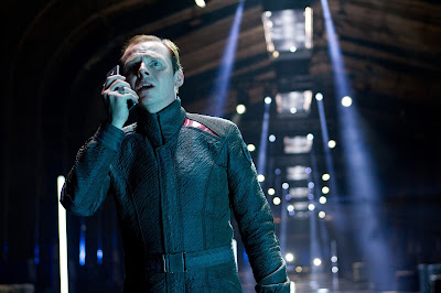 Simon Pegg is Scotty in Star Trek Into Darkness, in cinemas May 17