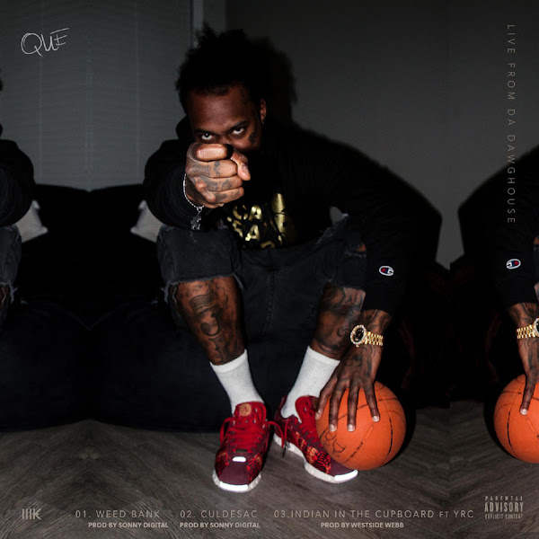 QUE. - Live from da DawgHouse - Single Cover