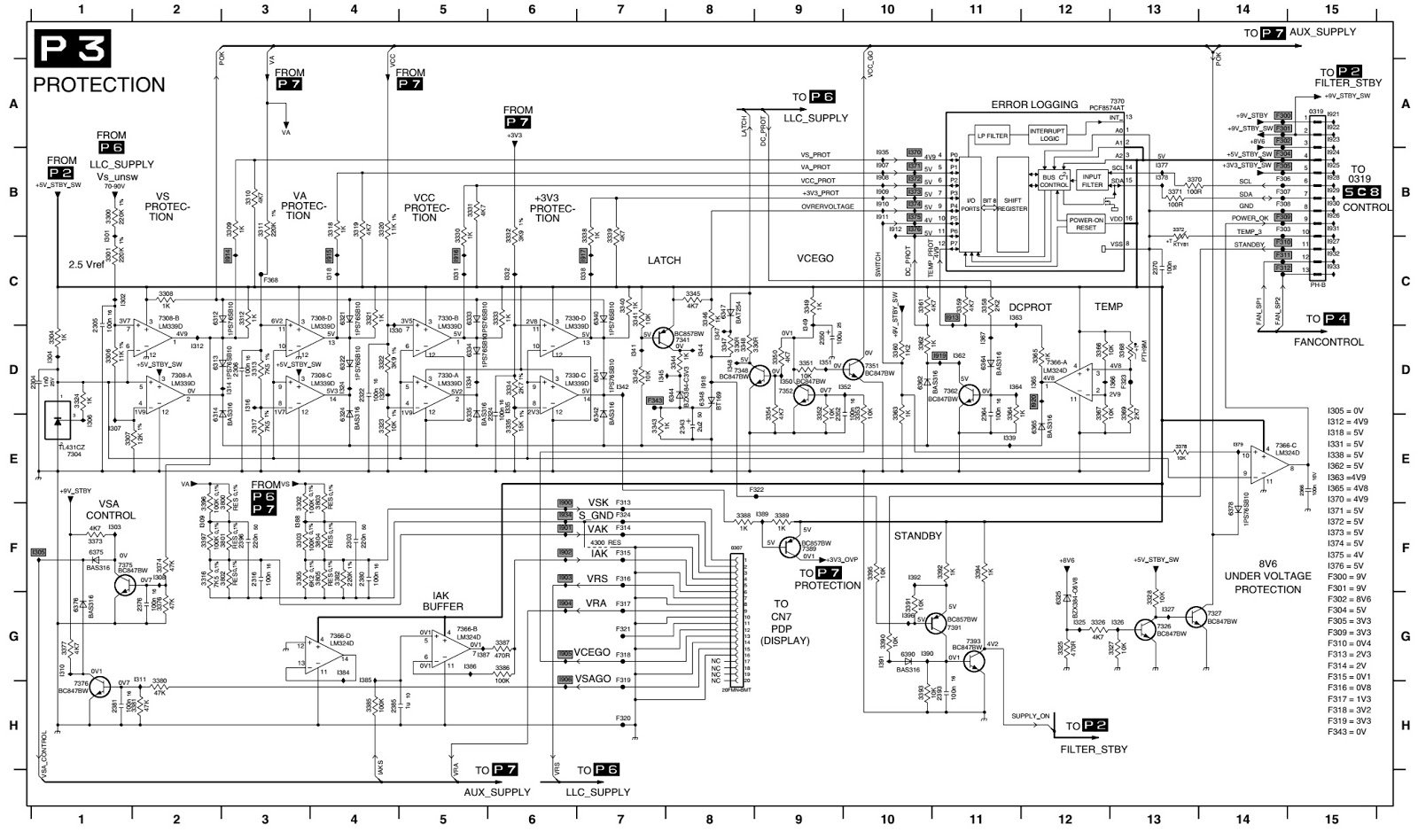 Plasma Tv Power Supply Schematic