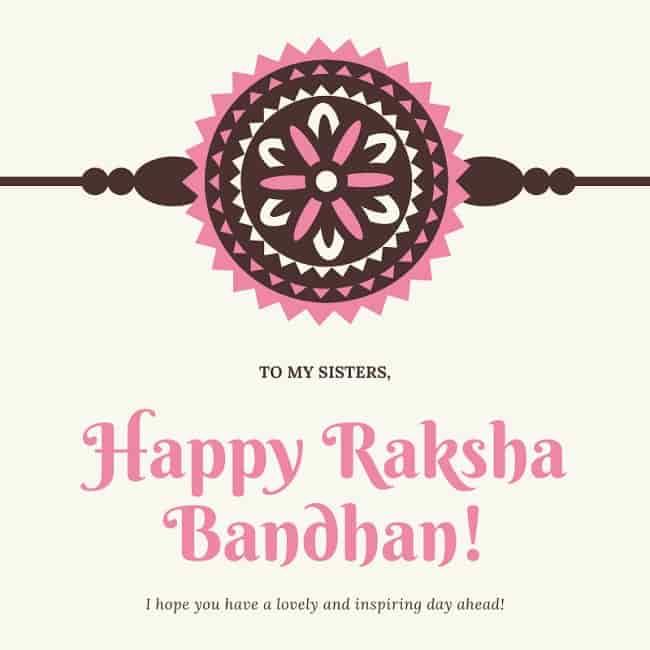raksha bandhan wishes quotes for sister