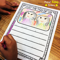 Moving Student Blog Post and Activity, Planet Happy Smiles