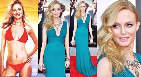 SOULFUL HEALTHY LIVING: HEATHER GRAHAM FLAUNTS HER PILATES ...