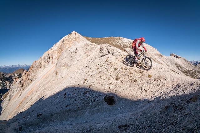 gpx track sennesscharte mountainbike