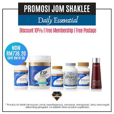 Promosi Jom Shaklee Dis 2019 - Feb 2020