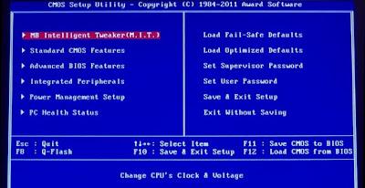 Jenis-jenis software-program bios