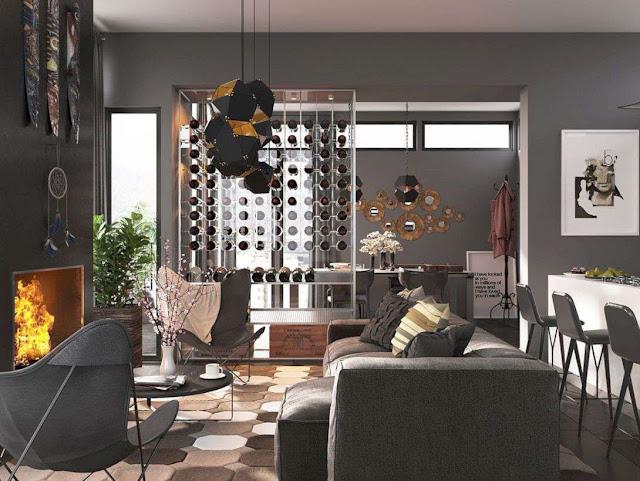 masculine living room design ideas
