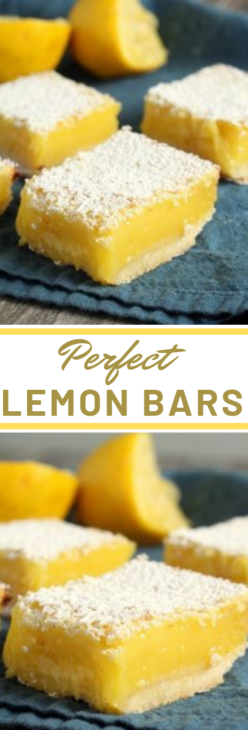 Perfect Lemon Bars #lemon #bars #dessert #cakes #healthyrecipes