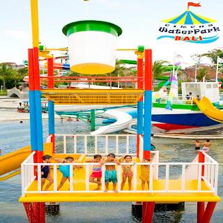 Travelling With Children In Circus Waterpark Kuta Bali