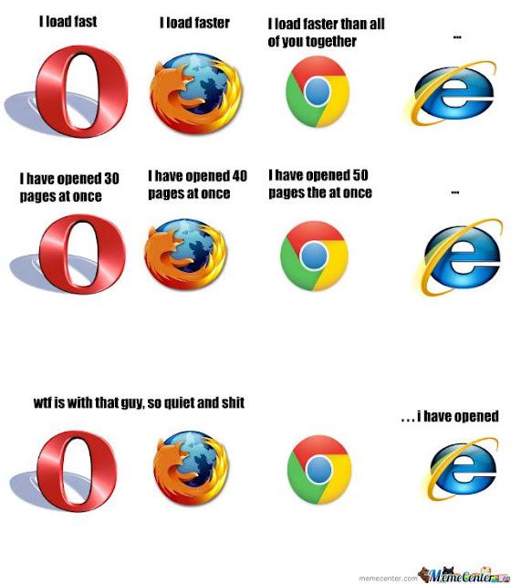 Internet Explorer Firefox Meme Google Chrome