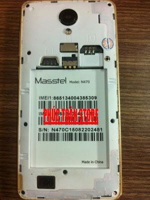 Rom Masstel N470 mt6572 alt