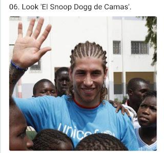 Sergio Ramos look snoop dogg