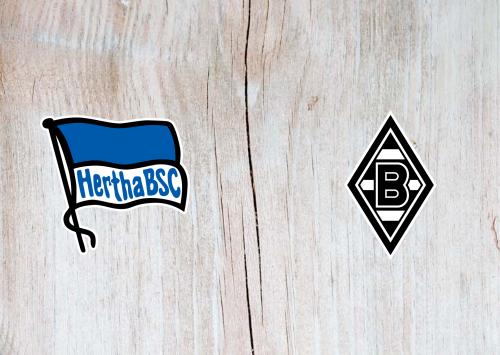 Hertha BSC vs Borussia M'gladbach -Highlights 10 April 2021