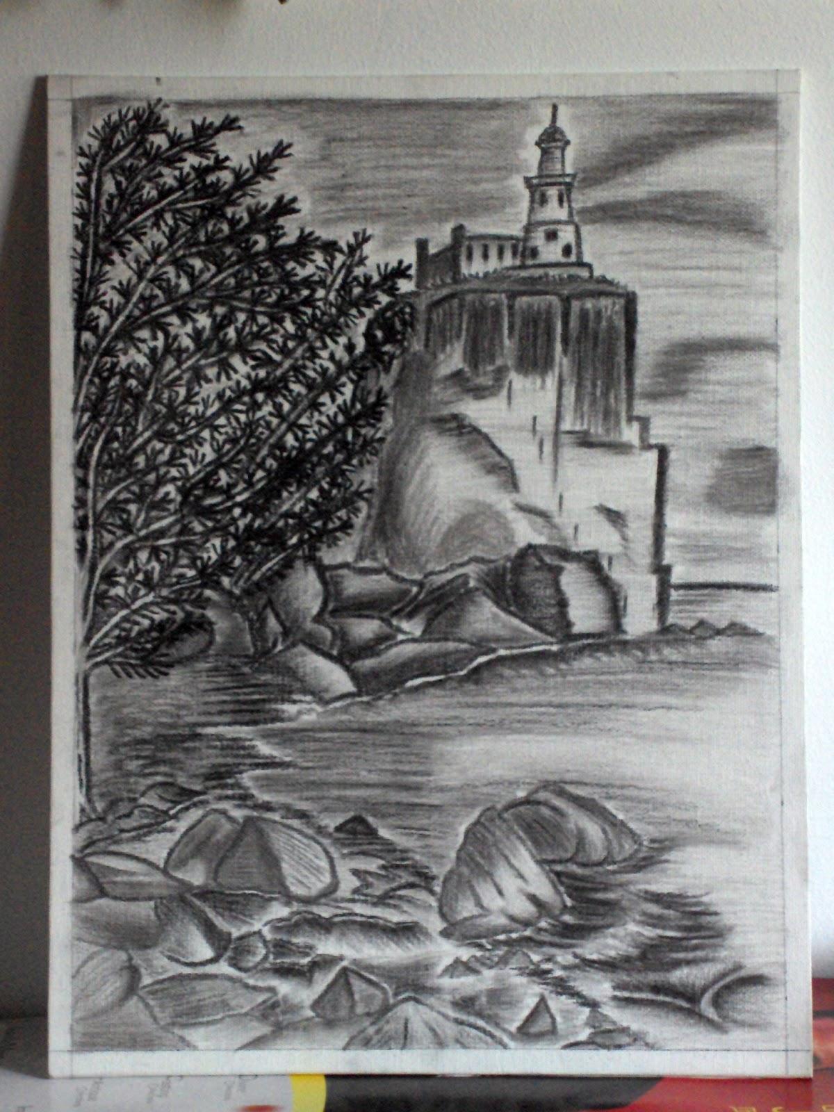 My art addiction carbon sketch