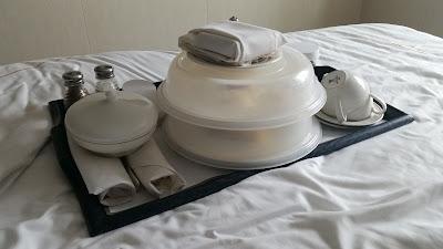 Breakfast in Bed, Queen Elizabeth Cruise