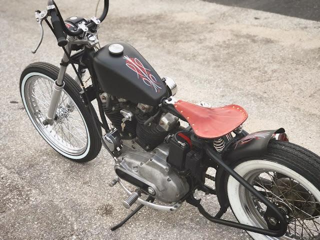 Harley Davidson Ironhead By Quality Hand Made Hell Kustom