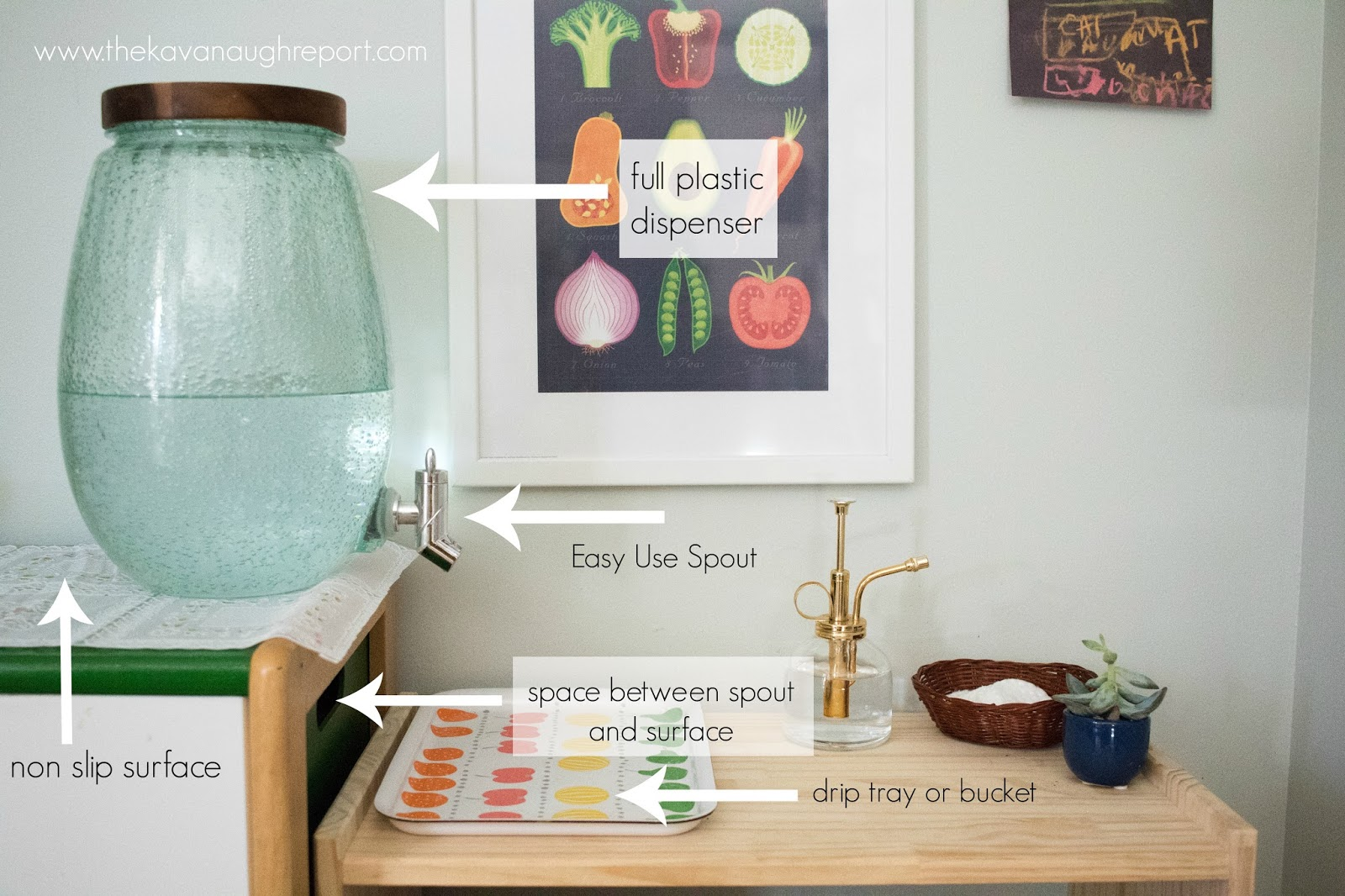 Creating a Montessori Water Station in Your Home
