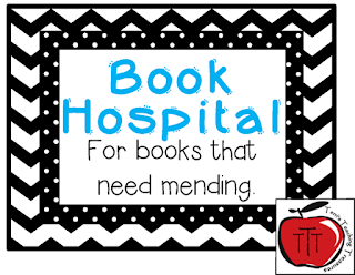 https://www.teacherspayteachers.com/Product/Book-Hospital-Label-Chevron-and-Dots-1493480