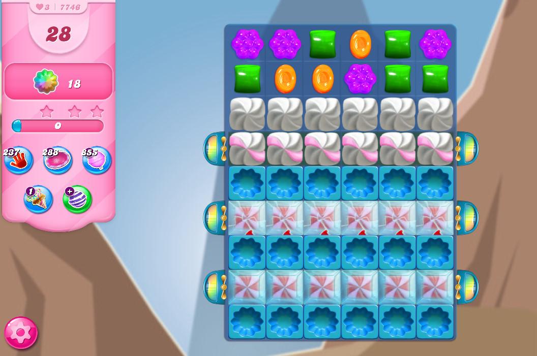 Candy Crush Saga level 7746