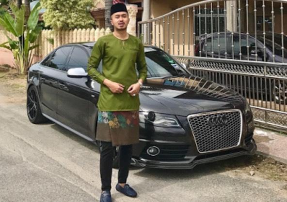Gambar Kereta Mewah Kekasih Fasha Sandha, Mukhlis Rosdi