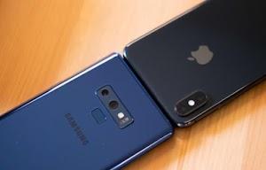 Penguasaan pasaran telefon Apple mengambil hit dua angka, Samsung serta Huawei memperoleh  299