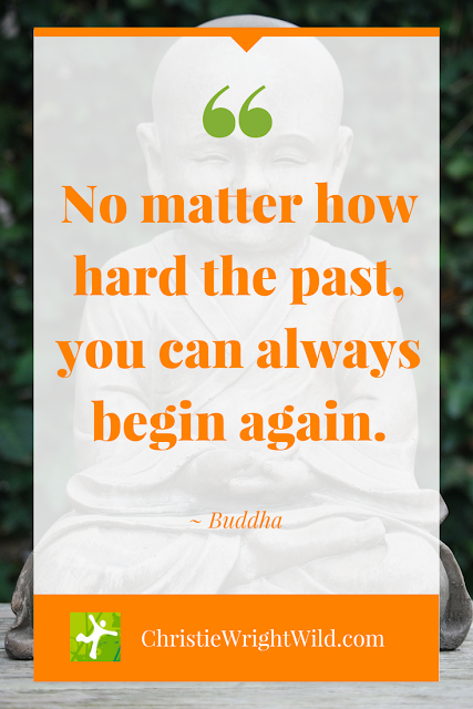 "HOW TO WRITE A REVERSE NEW YEAR'S RESOLUTION | ""No matter how hard the past, you can always begin again."" - Buddha 
