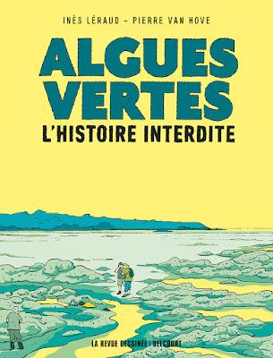 couverture de ALGUES VERTE L'HISTOIrE INTERDITE par Leraud et Van Hove chez Delcourt