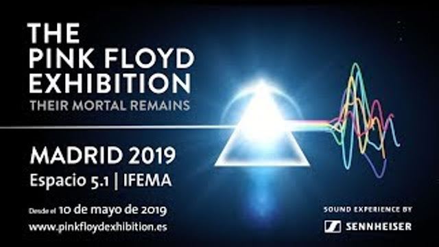 The Pink Floyd Exhibition Their Mortal Remains (Madrid)