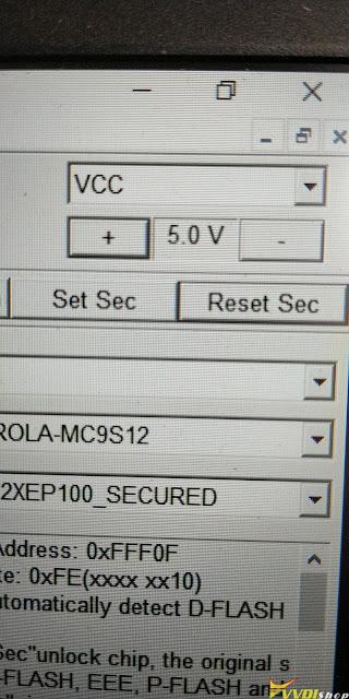 Xhorse VVDI Prog MC9S12XEP100 Secured 12