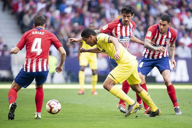 مشاهدة مباراة أتلتيكو مدريد وفياريال