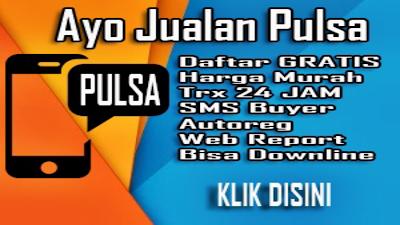 Daftar agen pulsa