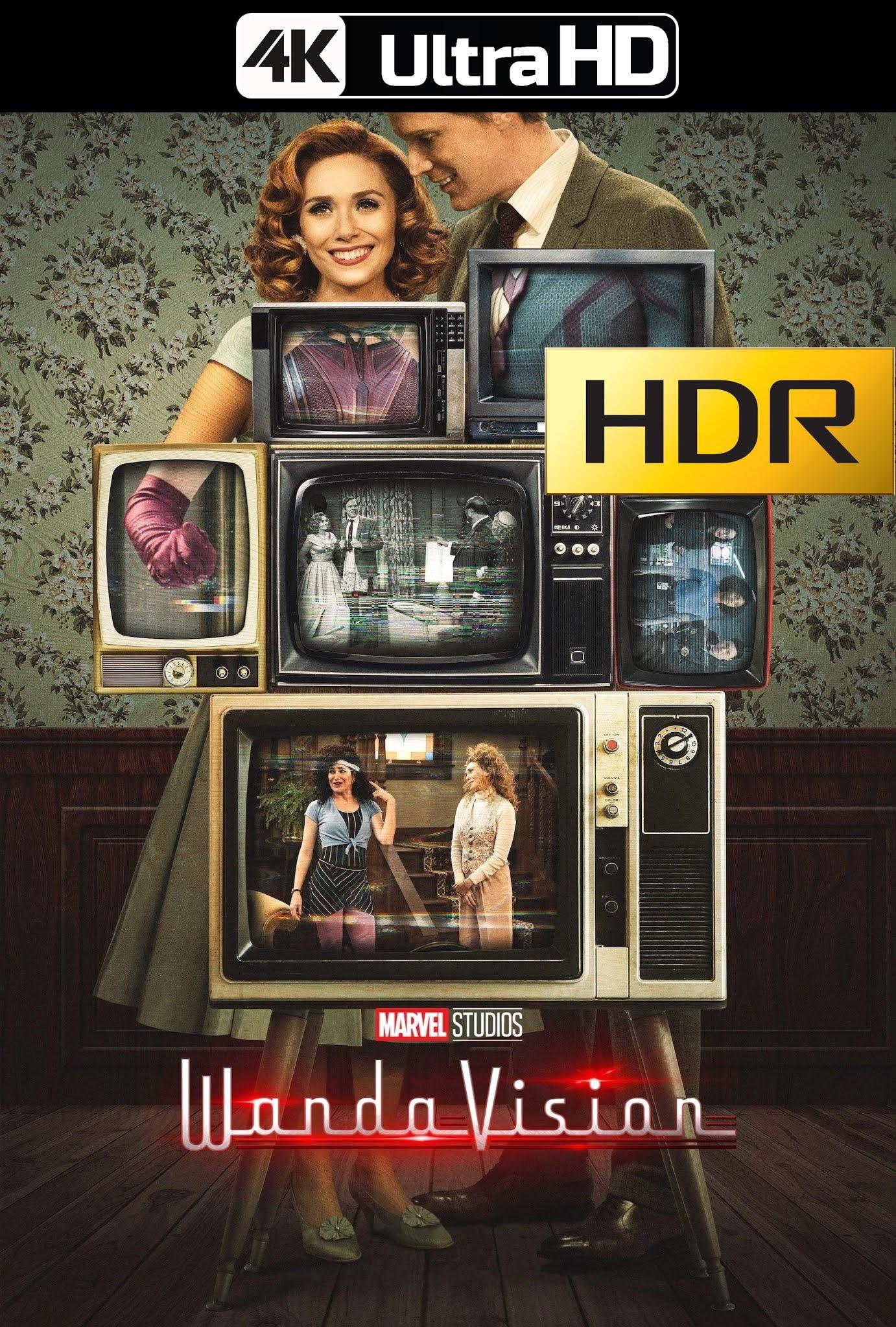 WandaVision (2021) temporada 1 Web-DL 4K UHD HDR Latino