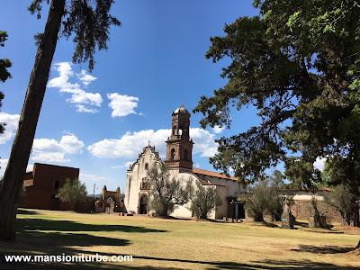 Pueblo Mágico de Tzintzuntzán: Atrio de los Olivos